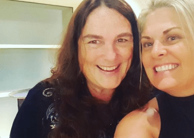 Jeanne Marie Pittman and Lisa Drew