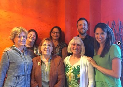 NAPSA's 2016 Steering Committee (absent is Gloria Grow of Fauna Foundation and Noelle Almrud of Black Beauty Ranch)