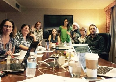 NAPSA's 2016 Steering Committee making magic happen! (Missing is Gloria Grow of Fauna Foundation)