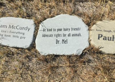 "A reminder at CSNW: ""Be kind to your hairy friends! Advocate rights for all animals."" - Dr. Mel"