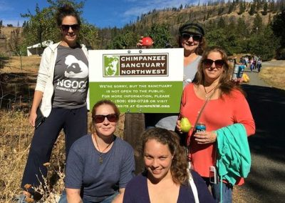 The Chimp Haven staff explored CSNW