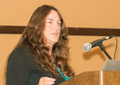 "Jeanne Marie Pittman of GFAS during ""Friends and Allies"""