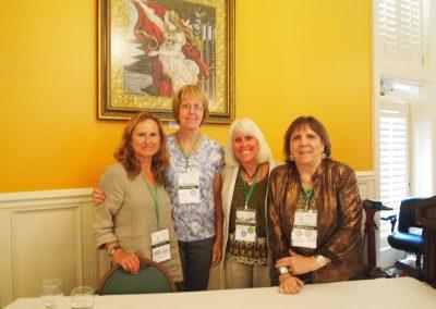Dr. Jocelyn Bezner, Dr. Valerie Kirk, Kari Bagnall and Patti Ragan
