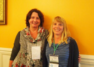 Cathy Willis Spraetz and Diana Goodrich