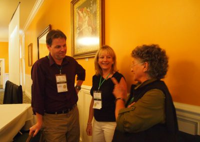 Steve Ross, Katie Conlee and Theodora Capaldo