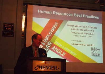 Larry Smith presented on Human Resources Best Practices