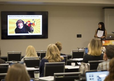 "Julia Gallucci presents ""The Current State of Primates in Entertainment"""