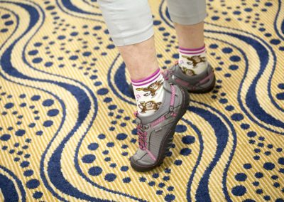 NAPSA Workshops feature the best socks!
