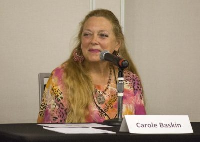 "Carole Baskin answers questions during ""Funding Retirement"""