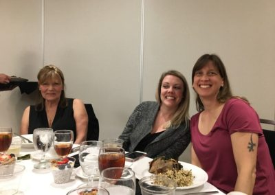 Gloria Grow and Fauna Foundation staff at the Recognition dinner