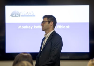 Nathan Herschler discusses the ethics of monkey retirement