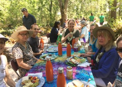 Lunch at Center for Great Apes during the NAPSA Workshop
